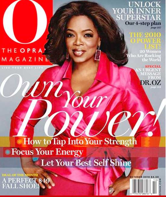 "Oprah Winfrey Dismissed from ""Own Your Power"" Suit"